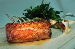 Lammkotelett - Artischocke - geräucherte Tomate & Rosmarinkartoffel