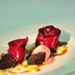 Ententortelloni - Rotwein - Apfel - schwarzer Trüffel